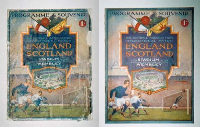 England Vs Scotland 1924