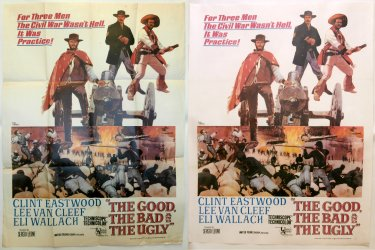The Good, The Bad & The Ugly poster