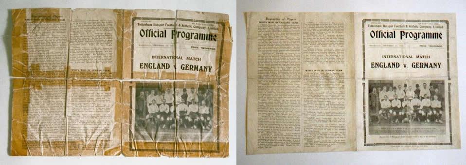 England Vs Germany at White Hart Lane 1935