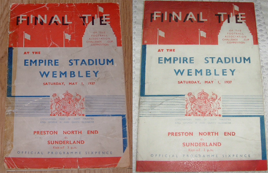 Preston North End Vs Sunderland 1937