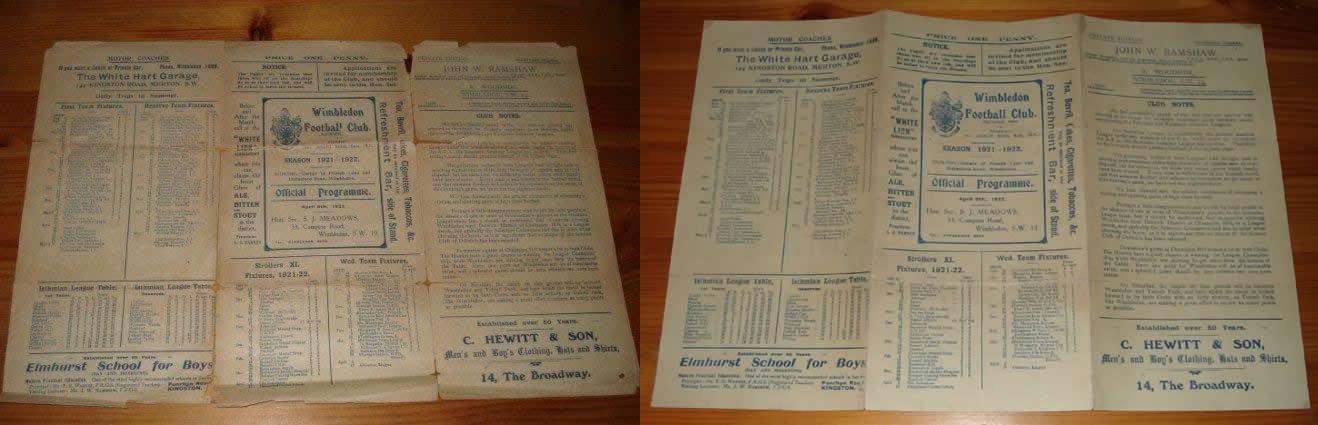 Wimbledon 1922